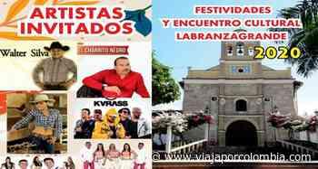 Festividades y Encuentro Cultural 2020 en Labranzagrande, Boyacá - Ferias y fiestas de Colombia - Viajar por Colombia