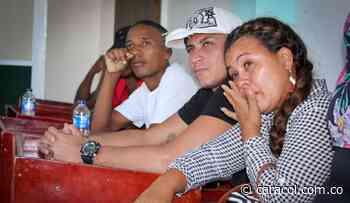 Jóvenes en riesgo de Mahates – Bolívar, firman pacto por la paz - Caracol Radio