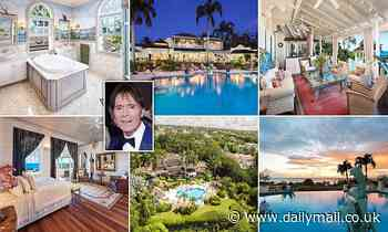Sir Cliff Richard puts his Barbados home on the market for £6.8MILLION - Daily Mail