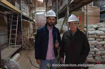 El párroco pide ayuda a vecinos y autoridades para restaurar Santa Catalina - Diario de Avisos
