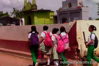 Colegio vecino al cementerio de San Martín de Loba, Bolívar, piden traslado de la sede - Noticias Caracol