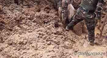 Rescatistas hallan cadáver de ciudadano de Juanjuí sepultado por huaico en Tingo María - Diario Correo