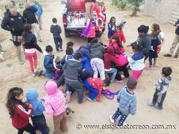 Celebra Policía Civil de Coahuila posada infantil en Matamoros - El Siglo de Torreón
