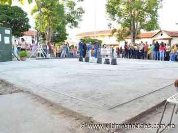 Empezó rehabilitación de la plaza Bolívar de Zaraza - Últimas Noticias