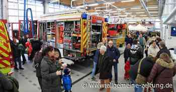 Viel Lob fürs neue Feuerwehrhaus Bodenheim/Nackenheim - Allgemeine Zeitung
