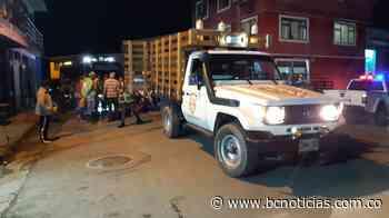Un ciclista se estrelló con un motocarro en Marquetalia - BC Noticias