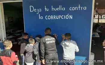 Imparten pláticas sobre soborno y corrupción a niños en Santiago Papasquiaro - El Sol de Durango