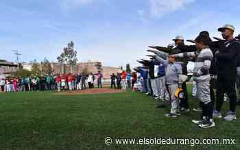 Arrancó el torneo regional de beisbol en Santiago Papasquiaro - El Sol de Durango