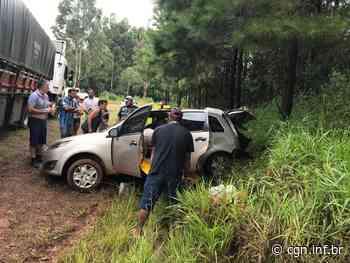 Grave acidente é registrado na PR-565, em Laranjeiras do Sul - CGN