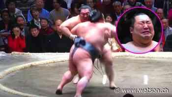 Der grösste Aussenseiter wird Sumo-Champion – und weint minutenlang - watson