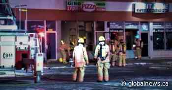 Fire at Pierrefonds-Roxboro pizzeria a suspected arson: Montreal police - Global News