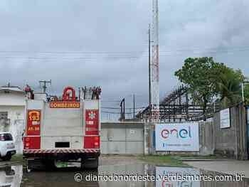 3 reatores explodem na subestação da Enel de Jabuti em Itaitinga - Diário do Nordeste
