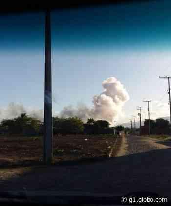 Galpão de fogos explode e deixa uma pessoa ferida em Itaitinga, na Grande Fortaleza - G1