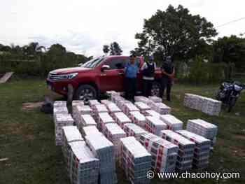 Elvas del Río de Oro, sin una cubierta y cargado de cigarrillos ilegales intento huir de la policía - ChacoHoy