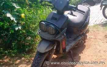 Recuperan moto con reporte de robo en Llano Largo - El Sol de Acapulco