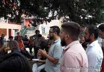 Álvarez Pinto con vecinos de Piedra Blanca - diario infomerlo