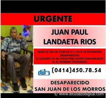 SERVICIO PÚBLICO / Desaparece adulto mayor en San Juan de los Morros - El Tubazo Digital