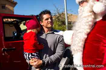 Christmas surprise: Community delivers gifts to Peoria firefighter hurt in APS battery explosion and family