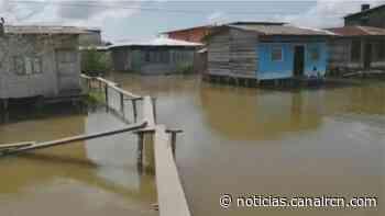 Más de 5.000 damnificados por desbordamiento del río Atrato en Chocó - Noticias RCN