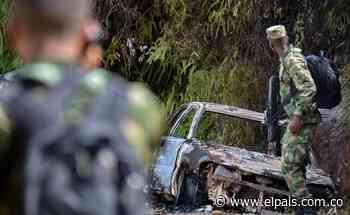 Las impactantes imágenes que dejó la masacre en Jamundí - El País – Cali