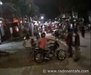 Asonada en Jamundí durante captura de presunto violador - Radio Santa Fe
