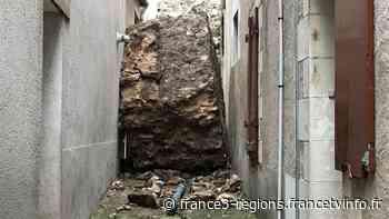 Indre-et-Loire : le coteau de la forteresse de Montbazon s'écroule sur des maisons - France 3 Régions