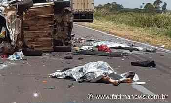 Colisão entre veículos deixa três mortos na BR-163 em Navirai - Fátima News