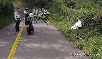 Un menor murió en Calarcá tras perder el control de su bicicleta y caer - Caracol Radio