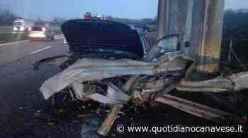 IVREA-SANTHIA' - Spaventoso incidente: feriti padre e figlio - QC QuotidianoCanavese