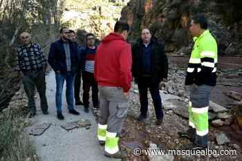 El vicepresidente de la Diputación visita Ayna y Yeste para evaluar los daños del temporal - Masquealba.com