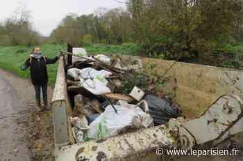 Esbly : trente bénévoles ont ramassé trois tonnes de déchets - Le Parisien