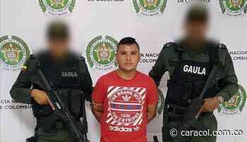 Policía captura en Córdoba a alias 'El Soldado', presunto jefe de sicarios - Caracol Radio