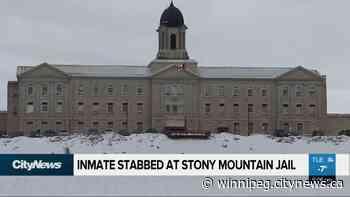 Inmate stabbed at Stony Mountain Jail - CityNews Winnipeg