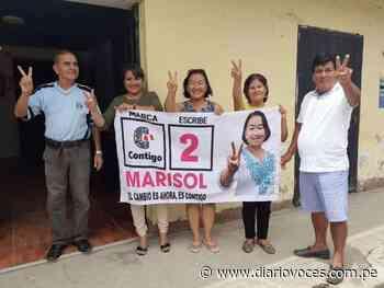 """Marisol Hasegawa: """"Uchiza sin agua, electorado sin información, fracaso del sistema de justicia"""" - Diario Voces"""