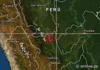 Sismo de magnitud 4.0 se registró hoy en Uchiza San Martín y es el primero del 2020 - Periodismo en Línea