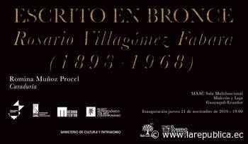 MAAC inaugura muestra de Rosario Villagómez - La República Ecuador