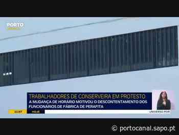 Fábrica de conservas em Perafita barra acesso a grupo de trabalhadores - Porto Canal