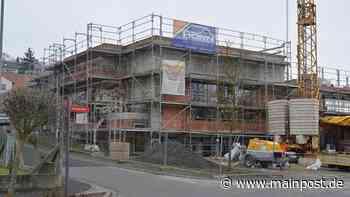 Bauarbeiten am Dorfzentrum in Heustreu gehen zügig voran - Main-Post