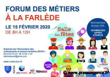 LA FARLEDE : Le 15 février, rendez-vous au Forum des métiers - La lettre économique et politique de PACA - Presse Agence