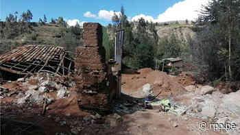 Junín: Una persona desaparecida y 19 viviendas colapsadas dejan deslizamientos en Chupaca - RPP