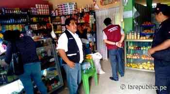 Sullana: realizan operativo contra rascapies y bombardas en tiendas de Salitral - LaRepública.pe