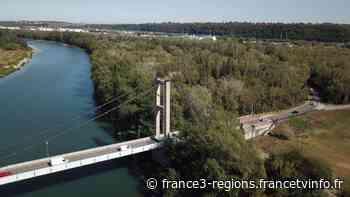 Surveillance de nos ponts : l'exemple du pont suspendu de Vernaison (Rhône) - France 3 Régions