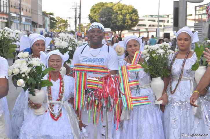No dia da tradicional lavagem, fiéis agradecem ao Senhor do Bonfim e Oxalá: 'Pai de todos' - G1
