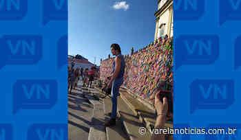Luan Santana grava clipe na Igreja do Senhor do Bonfim após cancelamento de show - Varela Notícias