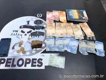 Homem é detido com maconha e crack no bairro Senhor do Bonfim em Penedo - Boa Informação