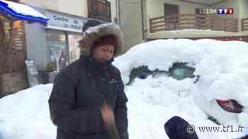 La station de Font-Romeu-Odeillo-Via se couvre de neige - TF1