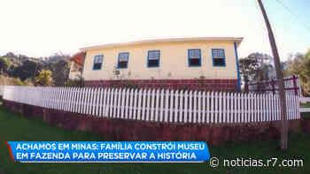 Achamos em Minas: Fazenda de Camanducaia conta história de MG - R7