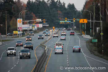 Lantzville, Snaw-Naw-As asking for lower speed limit on Island Highway - BCLocalNews