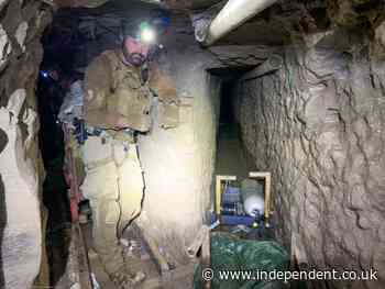 Longest ever smuggling tunnel found under US-Mexico border