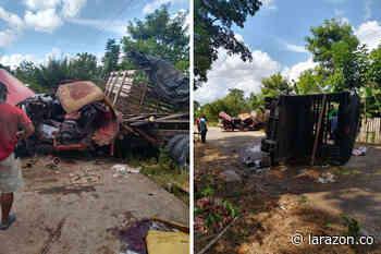 Al menos seis heridos dejó accidente vial en San Bernardo del Viento - LA RAZÓN.CO